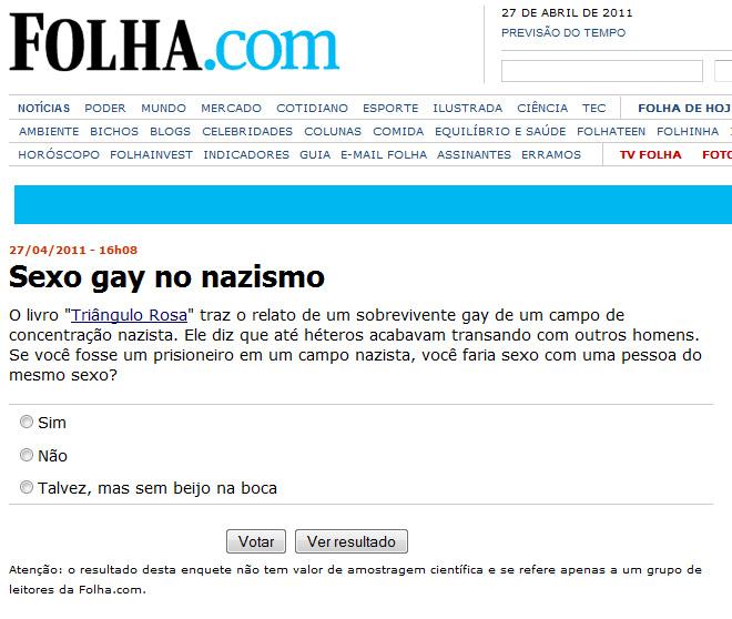sexo gay no nazismo