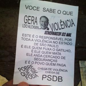 PAnfleto Alckmin Olé